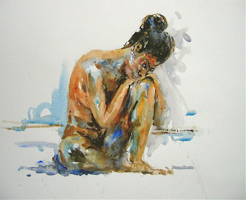 Watercolour: 13 x 16in