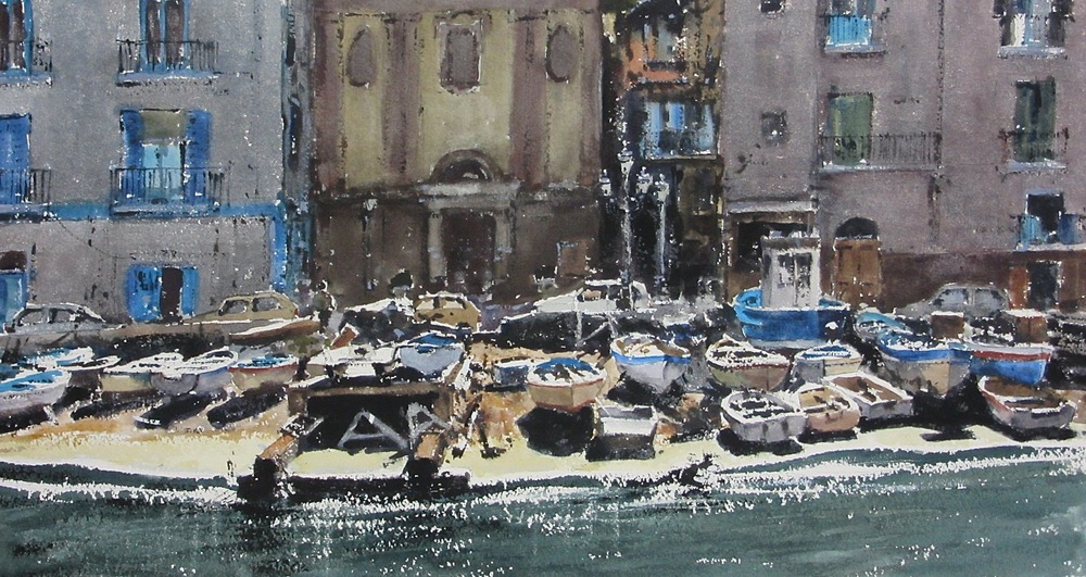 Grande Harbour Sorrento: 13 x 24 in: SOLD