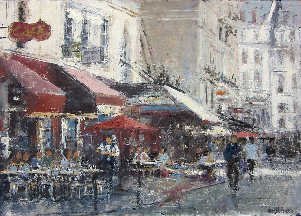 Rue de Buci Paris: 16 x 22.5 in: £1850