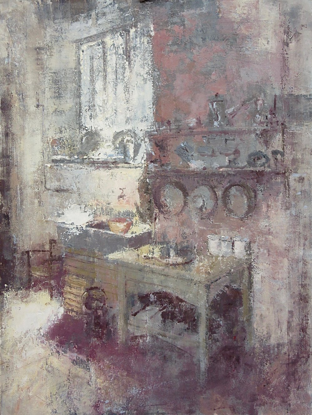 Old Kitchen: 24 x18 in: £2150    (currently at The Wykeham Gallery Stockbridge)