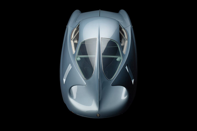 Alfa Romeo (Bertone),1954 Berlinetta Aerodinmica Tecnica 7 (B.A.T.7) Photographie: HIGH MUSEUM OF ART / CATERS NEWS