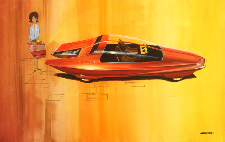 Wayne Cherry 'Runabout' Design Concept, . 1964 Photographie: Mike Jensen