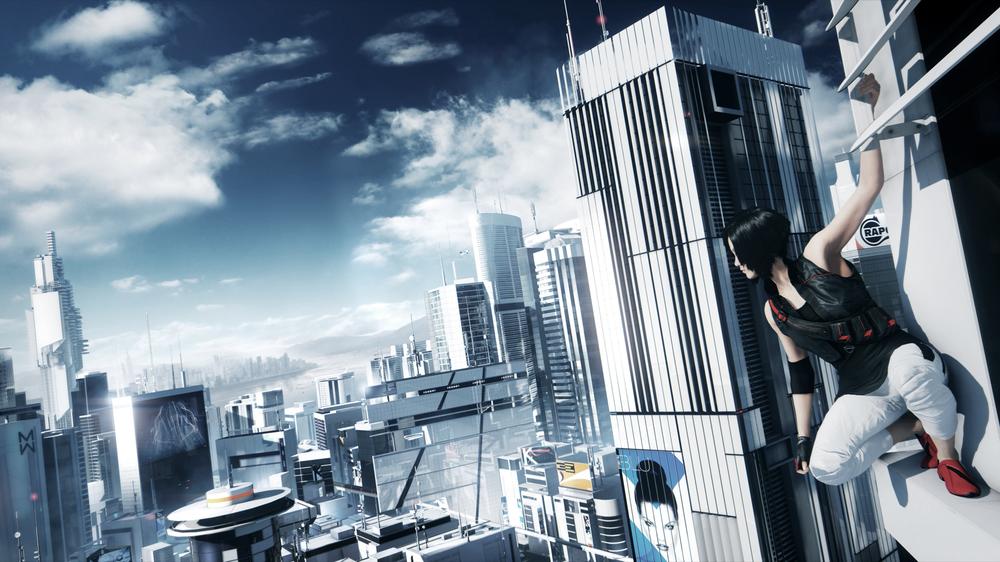 """Jeu vidéo """"Mirror's Edge"""" développé par DICEet sorti en 2008."""