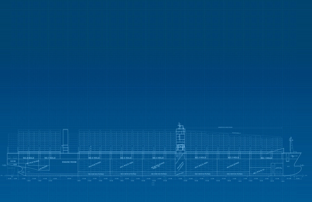 Maersk Triple E layout
