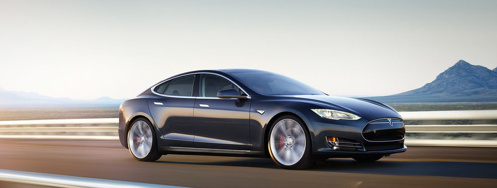 "Mazda, heu....Tesla Model S ""P85D"""