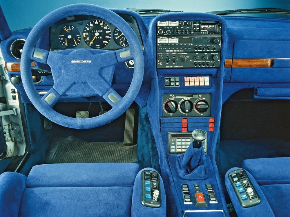 1980 - Mercedes-Benz 280 TE personnalisée par Zender