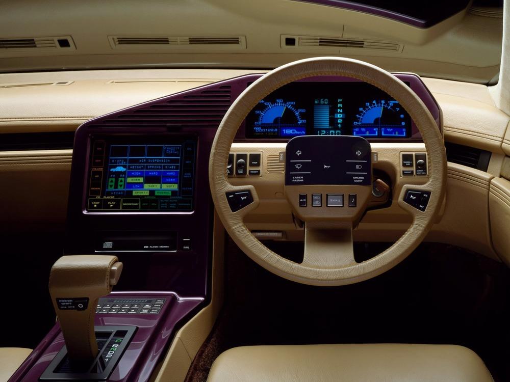 1985 - Nissan CUE-X concept car