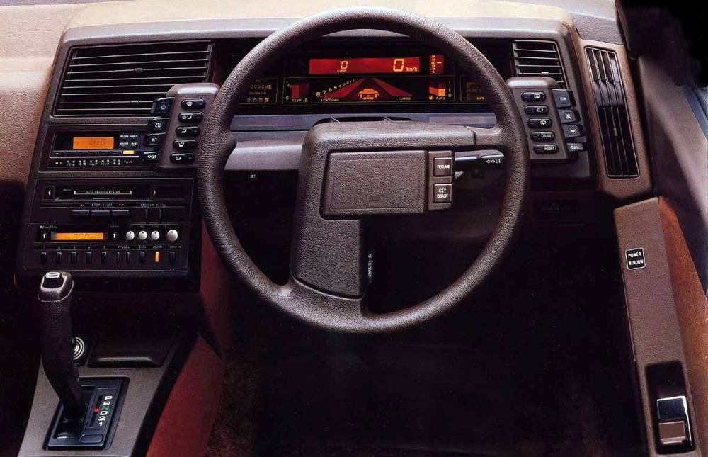1985 - Subaru XT.