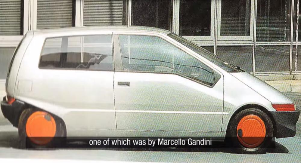 La réponsede Marcello Gandini au projet W60.