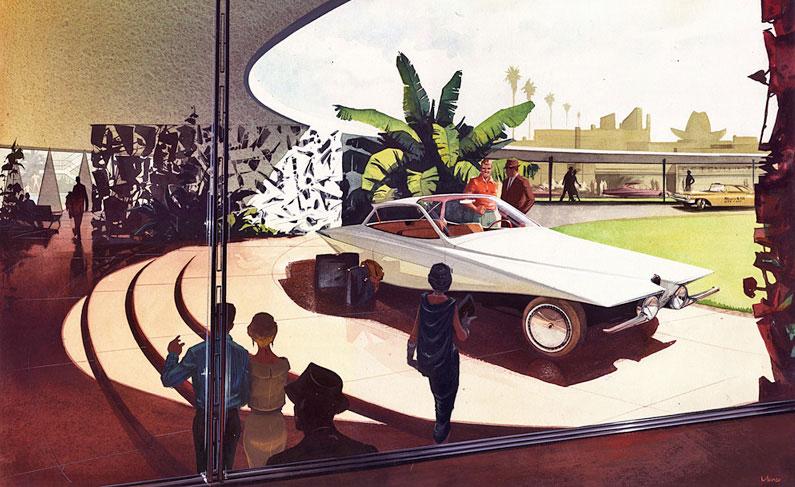 Bugatti futuriste, 1957