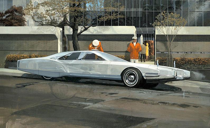 Rolls Royce futuriste, 1967