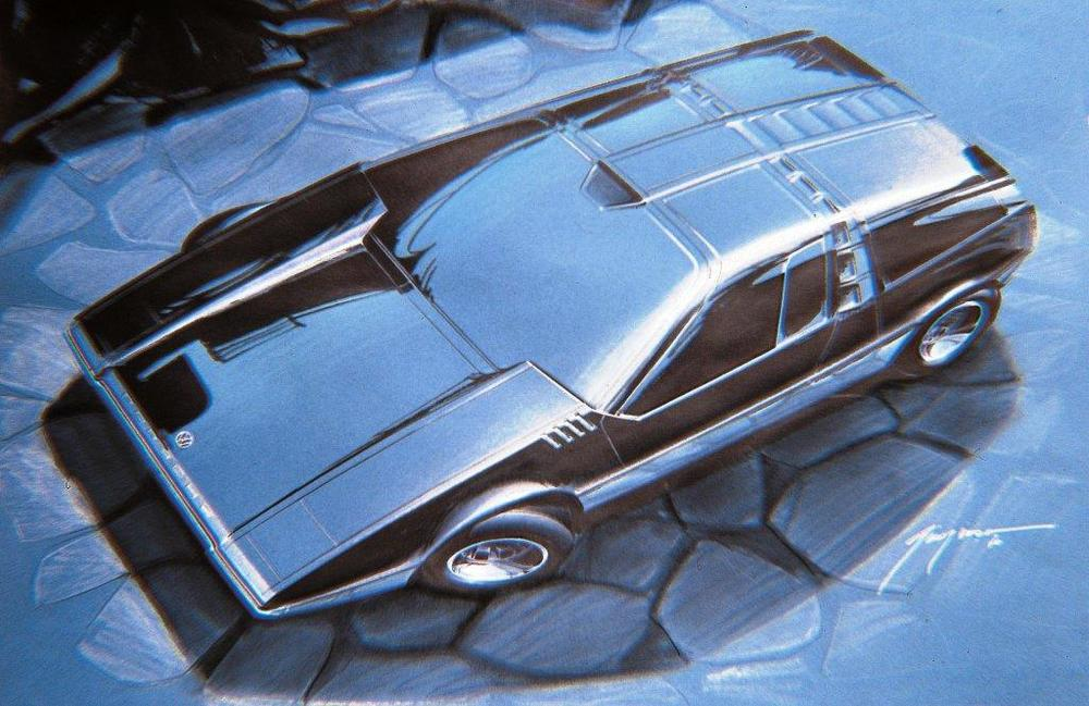 1970 Volkswagen Porsche Tapiro