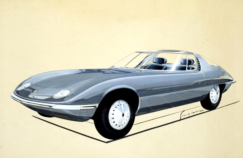 1963 Chevrolet Corvair Testudo Concept