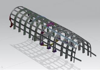 Structure arrière