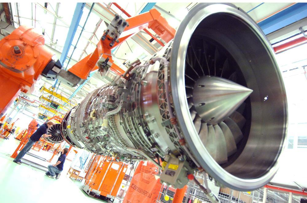 Turboréacteur Rolls-Royce EJ200
