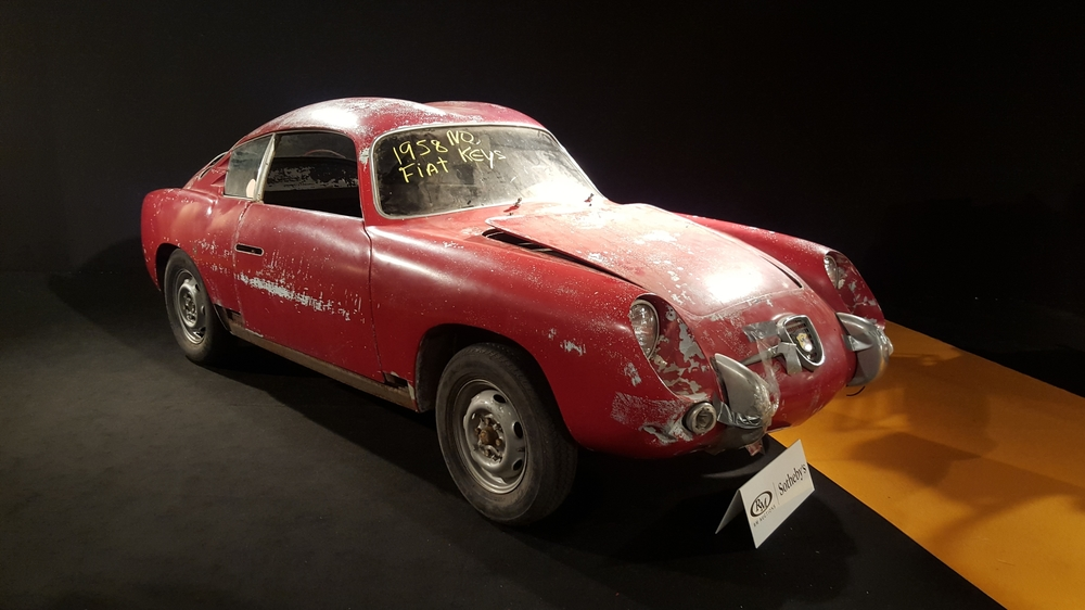 1958 FIAT-ABARTH 750 GT 'Double Bubble' par Zagato / Vendue 30.800 €
