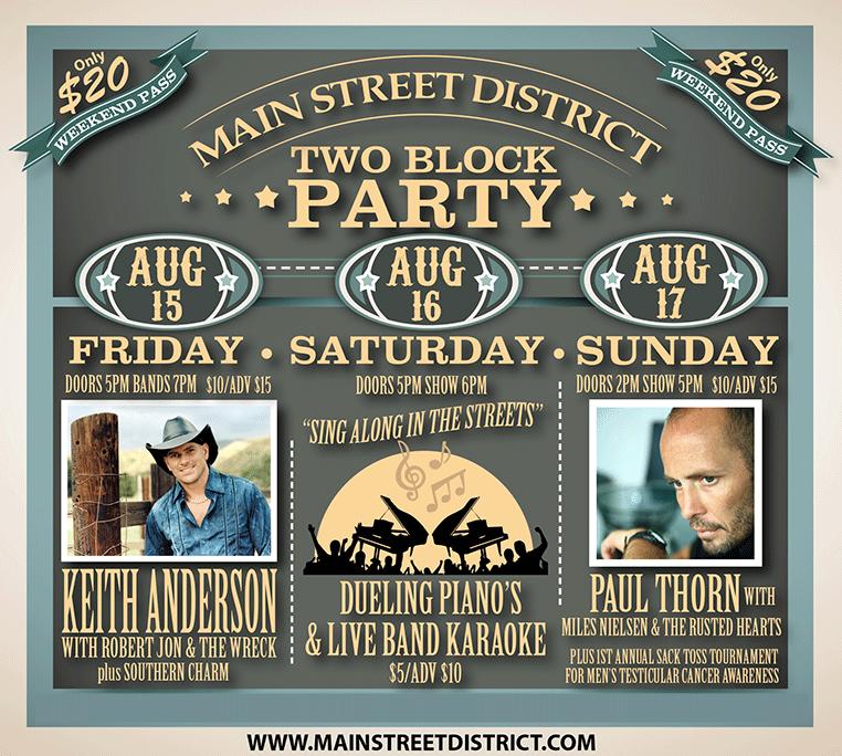 August 2 Block Weekend