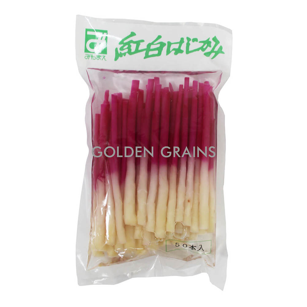 Golden Grains Keneku - Hajikami Ginger Stick -  500G - Japan - Back.jpg