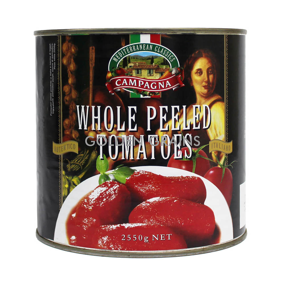 Golden Grains Campagna Whole Peeled Tomatoes - 2550g - Italy - Front.jpg