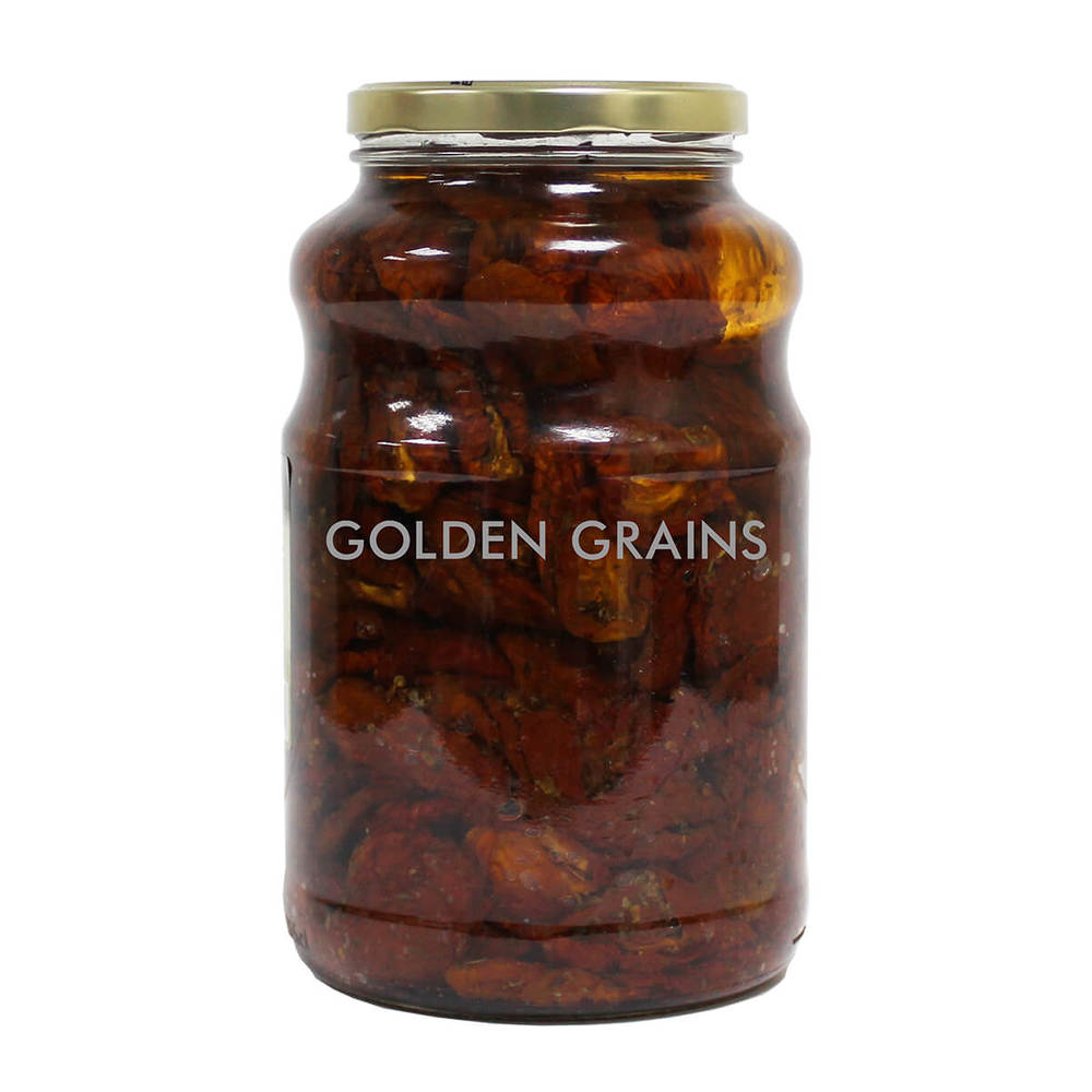 Golden Grains Mediterranea - Sundried Tomatoes in Oil - 2500G - Turkey - Back.jpg