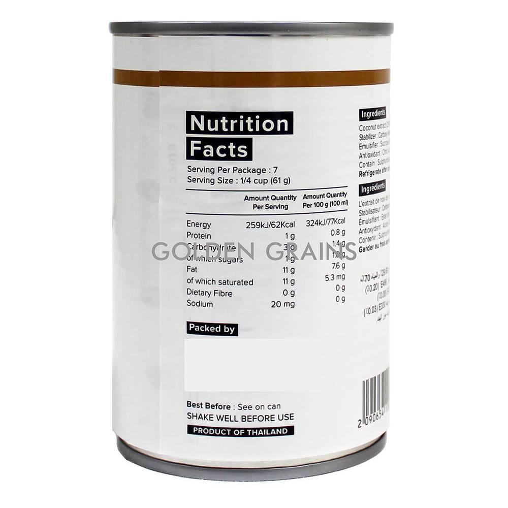 Golden Grains Dubai Export - Ma Kin - Coconut Milk - Side.jpg