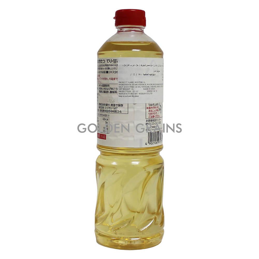 Golden Grains Mizukan - Mirin Sauce - 1LTR - Japan - Back.jpg