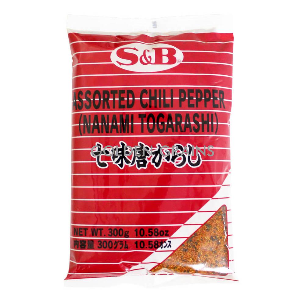 Golden Grains Dubai Export - S&B - Assorted Chili Pepper - Front.jpg