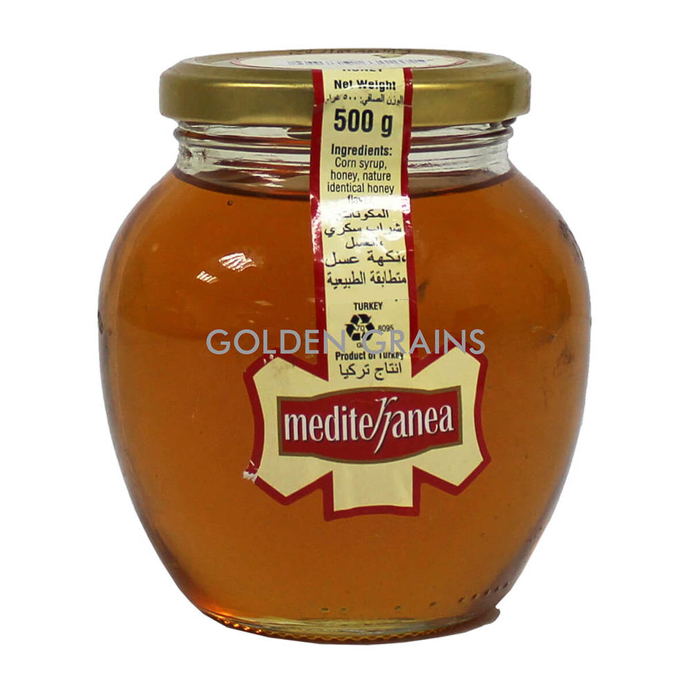 Golden Grains Mediterranea - Honey Sub - 500G - Turkey - Front.jpg