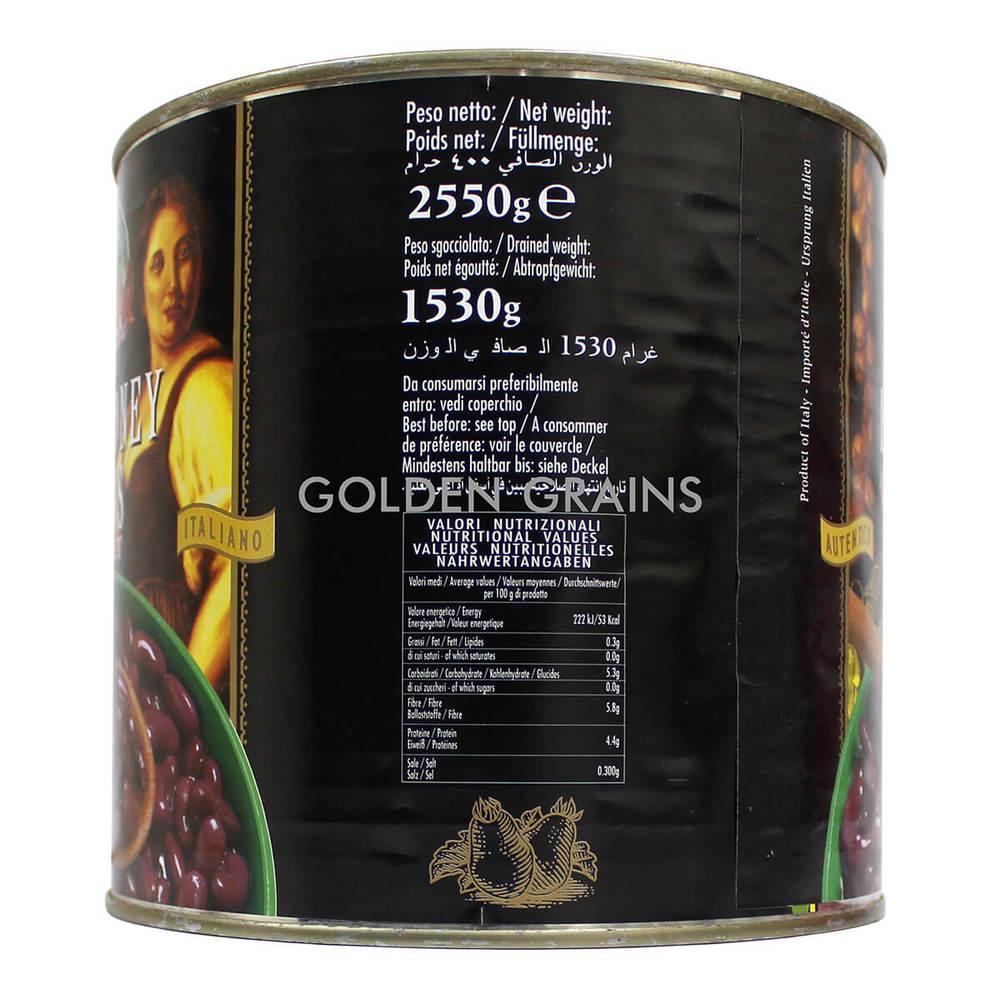 Golden Grains Dubai Export - Campagna - Red Kidney Beans - Back.jpg
