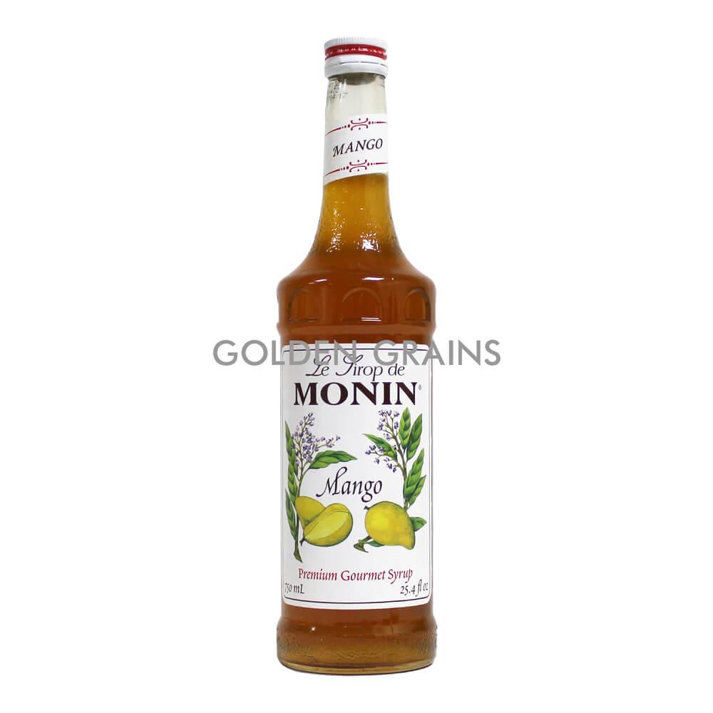 Golden Grains Monin Syrup - Mango - Front.jpg