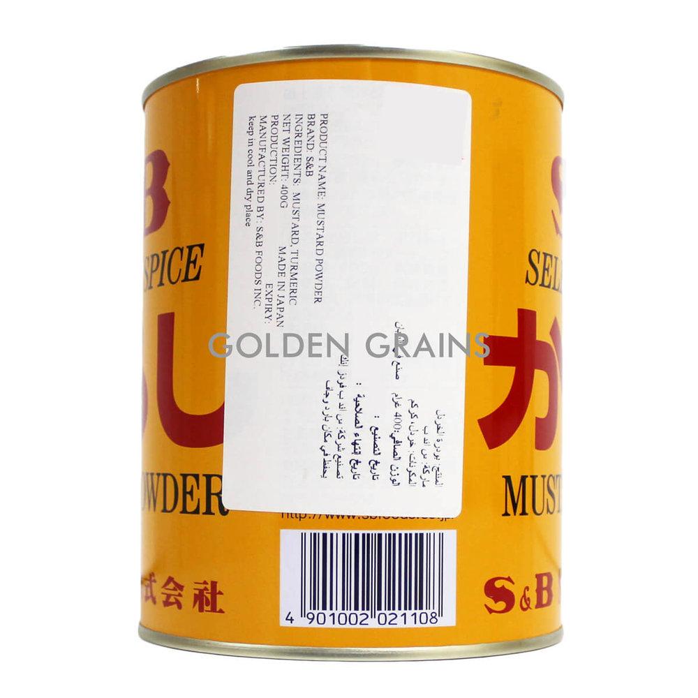 Golden Grains S&B - Mustard Powder - Back.jpg