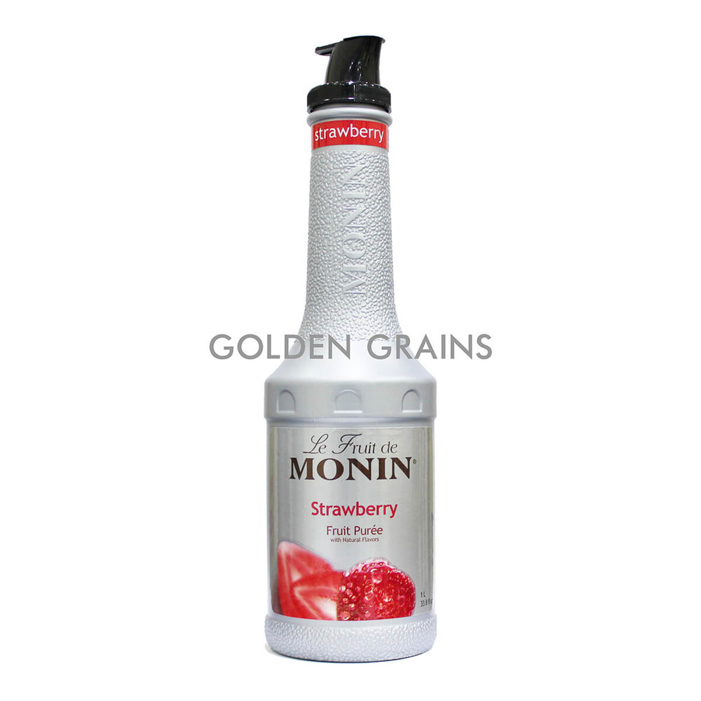 Golden Grains Monin - Strawberry Puree - Front.jpg