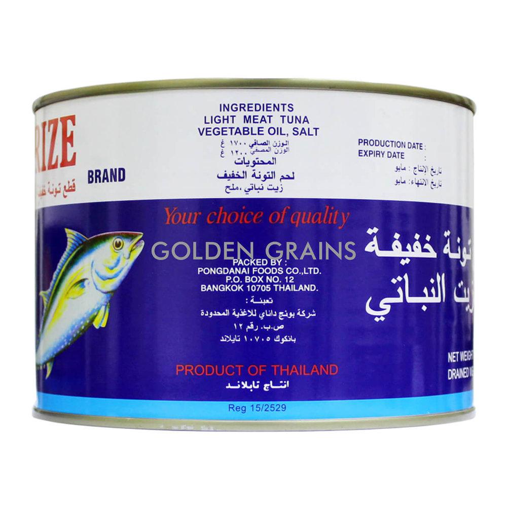 Golden Grains Golden Prize - Tuna in Veg Oil 2017 - Back.jpg
