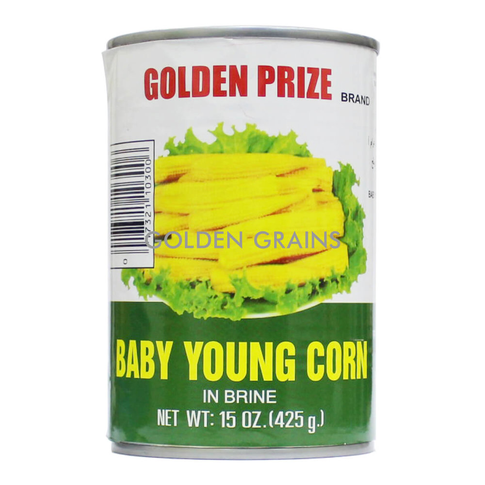 Golden Grains Golden Prize - Baby Young Corn - Front.jpg