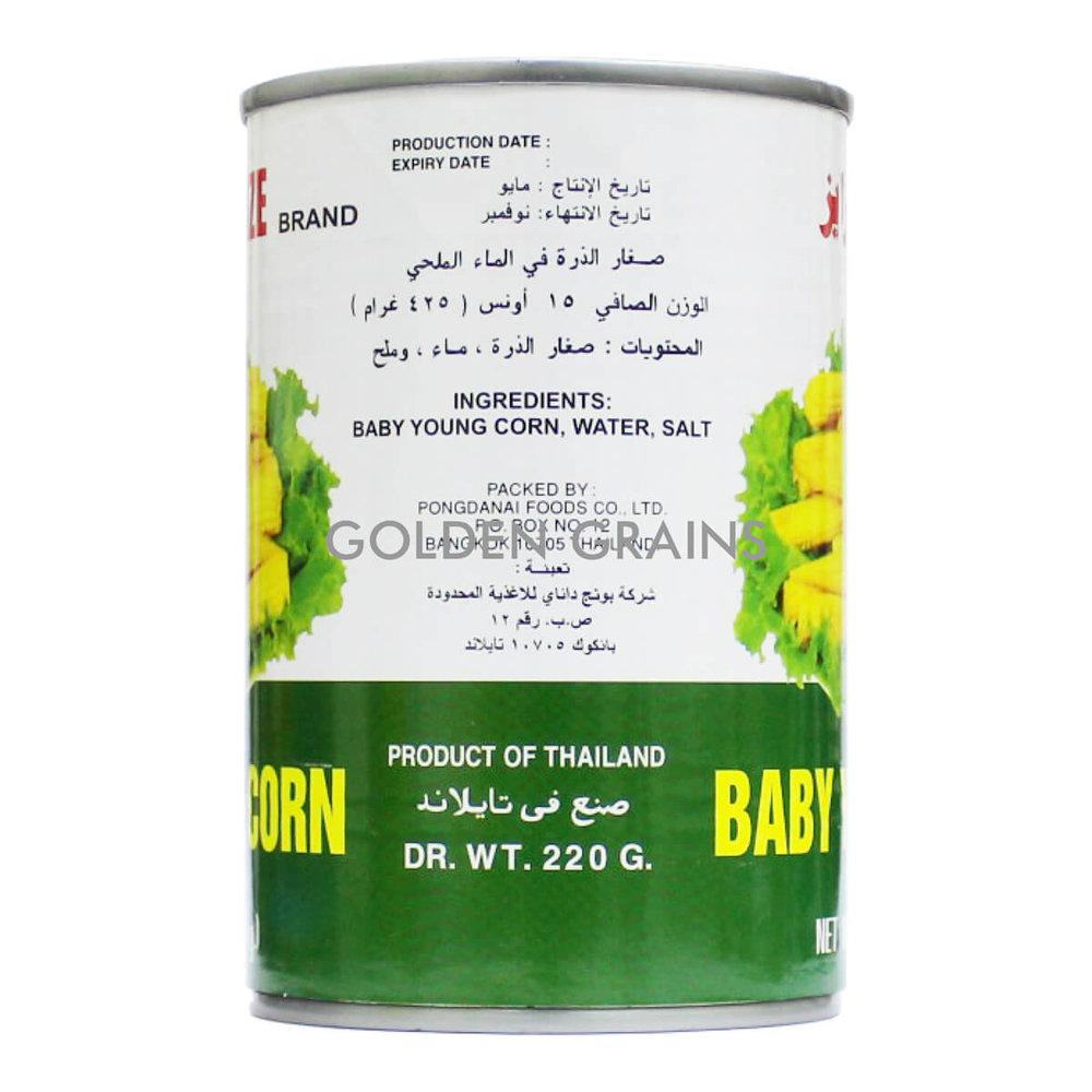 Golden Grains Golden Prize - Baby Young Corn - Back.jpg