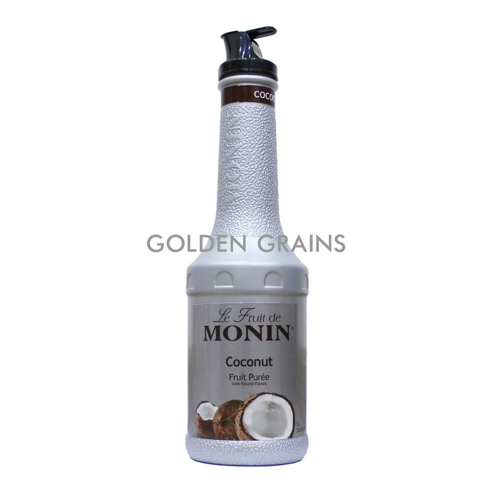 Golden Grains Monin - Coconut Puree - Front.jpg