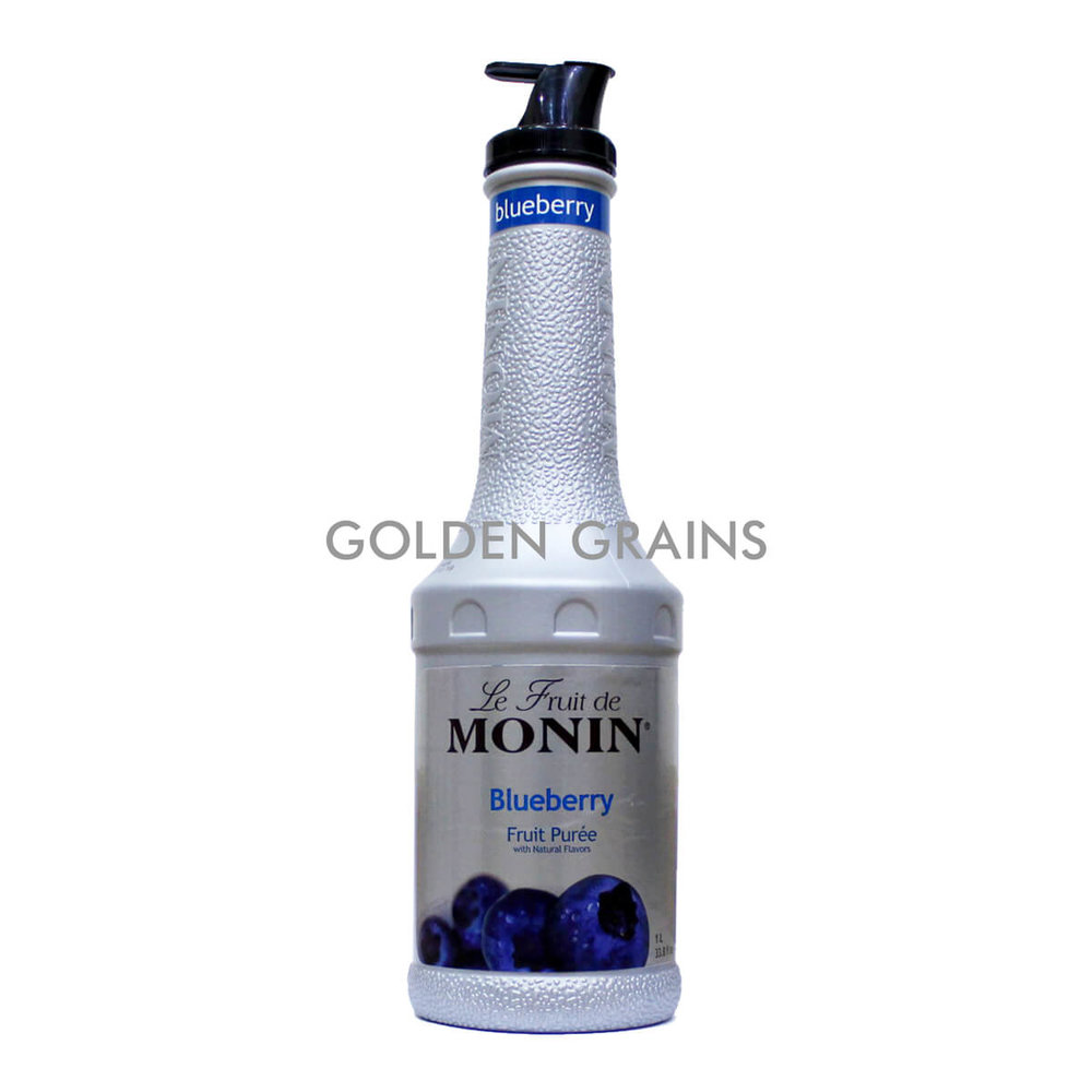 Golden Grains Monin - Blueberry Puree - Front.jpg