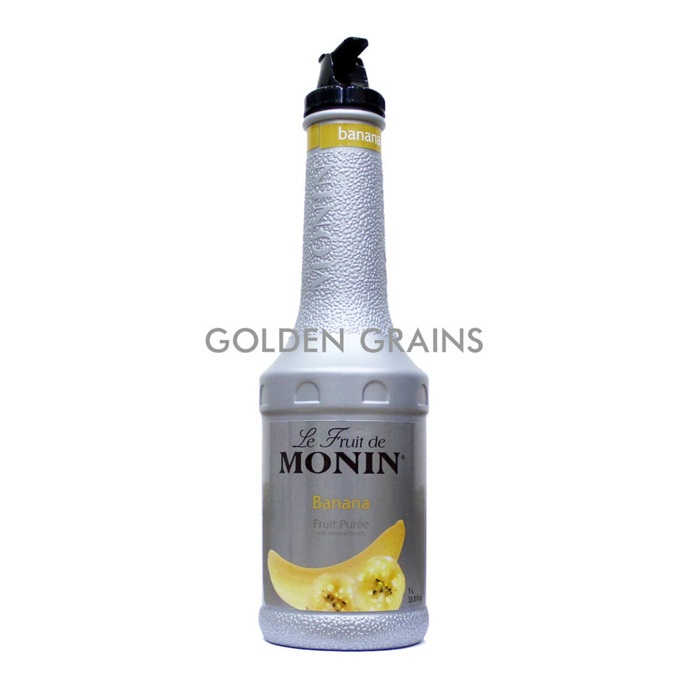 Golden Grains Monin - Banana Puree - Front.jpg