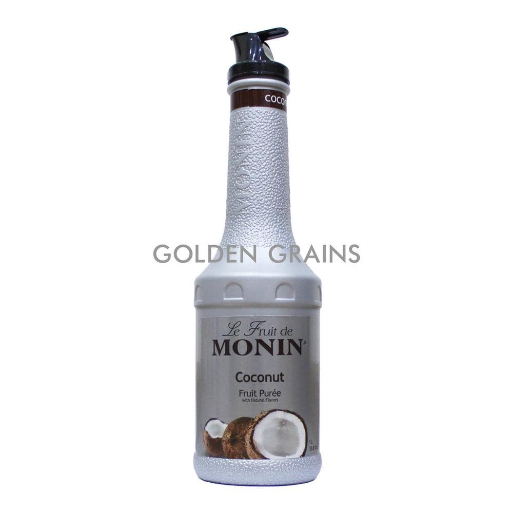 Golden Grains Monin - Coconut Puree - Front.jpg