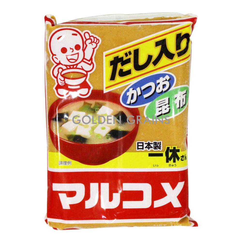 Golden Grains Marukome - Yellow Miso - Front.jpg