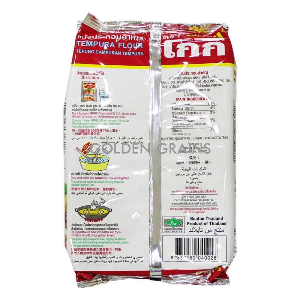 Golden Grains Gogi - Tempura Flour - Back.jpg