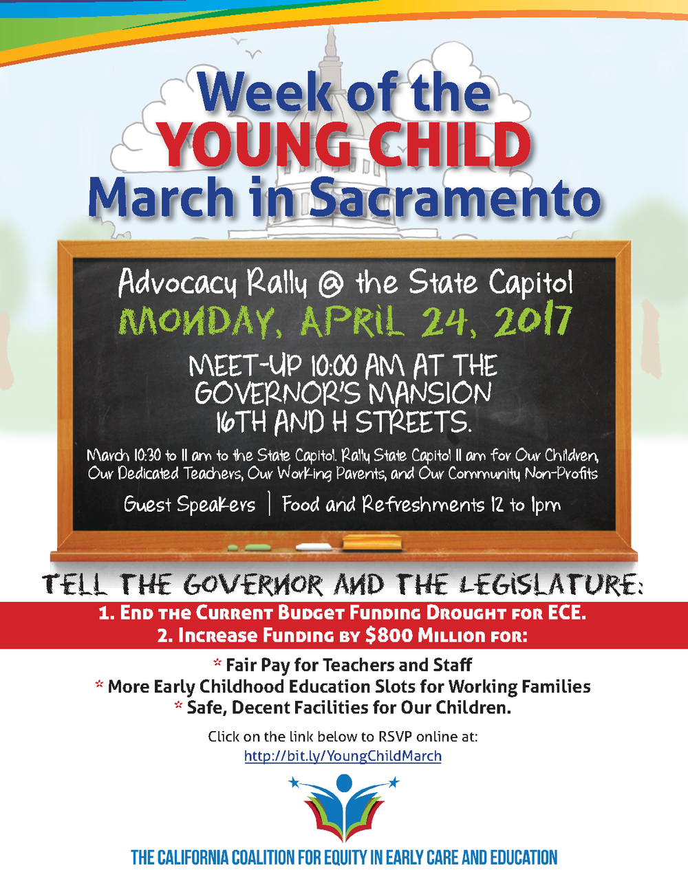 WOYC March in Sacramento