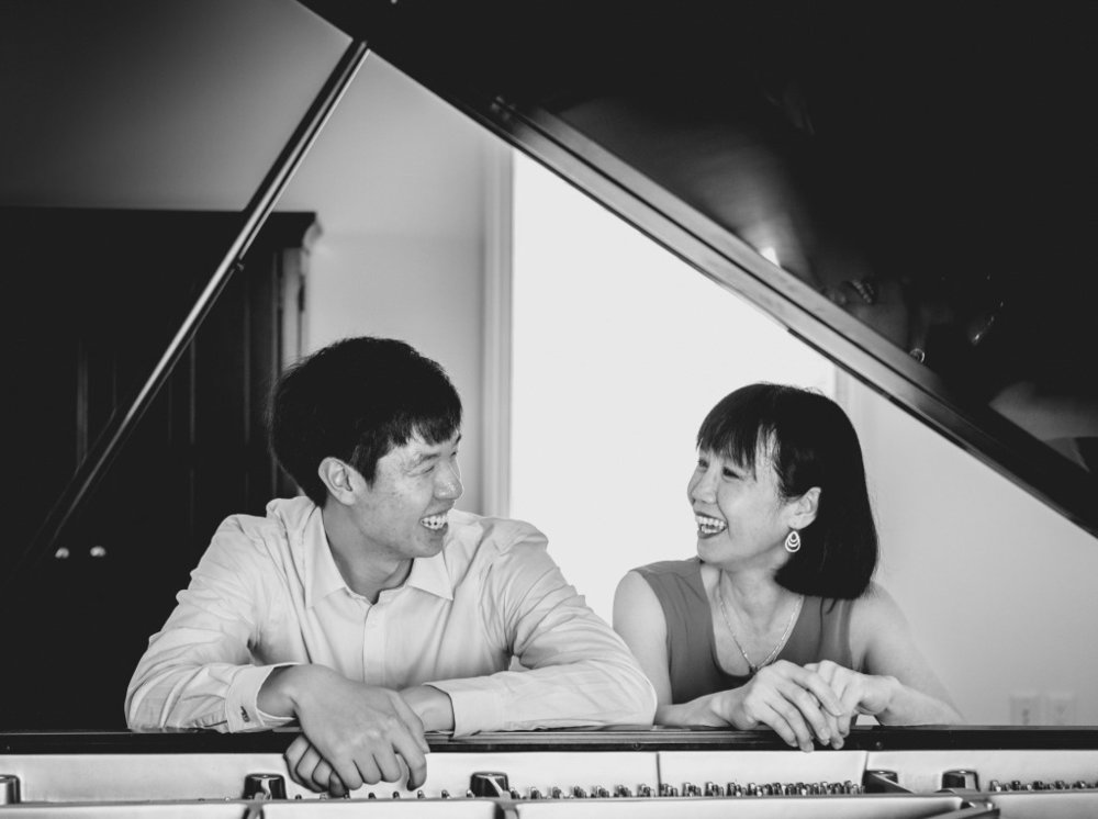 Mother and son, Michelle and Christopher Kuo