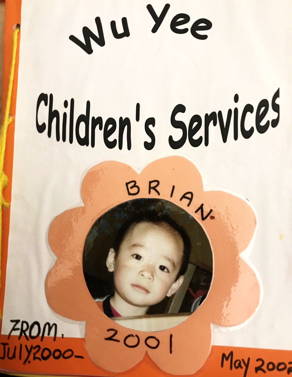 Brian Liu as a Wu Yee child