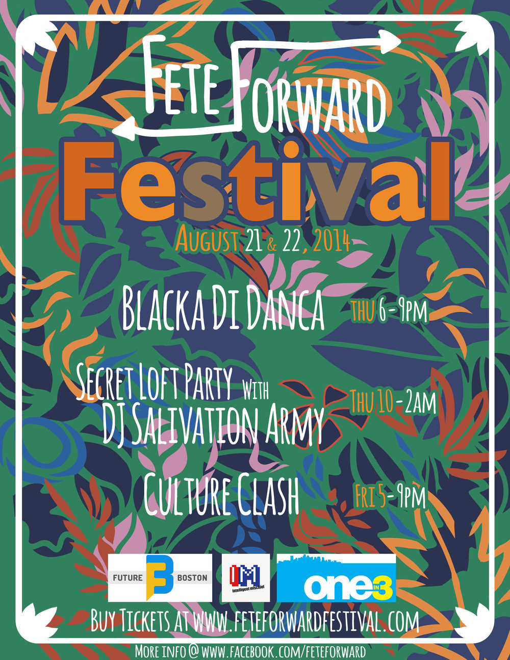 FETE FORWARD 2014