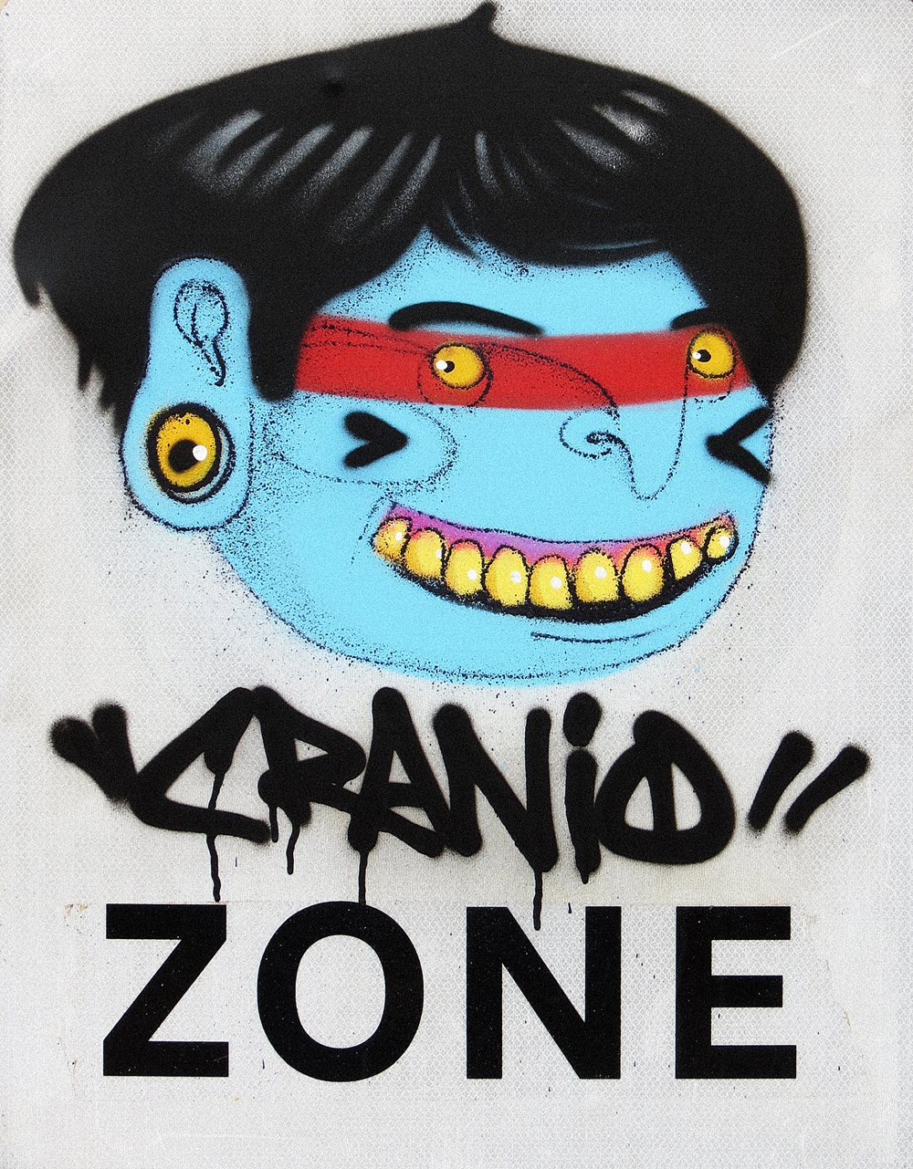 cranio_cranio zone_spray paint on traffic sign _60 x 78.5 cm_£1200.jpg