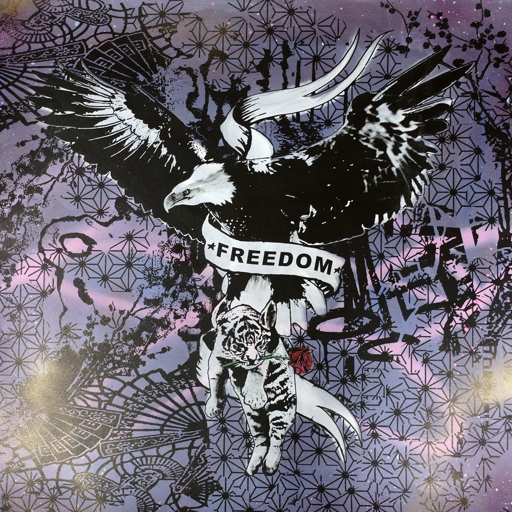 'Freedom 4' '1of1screenprint, 80x80cm Not for Catalogue 022.JPG