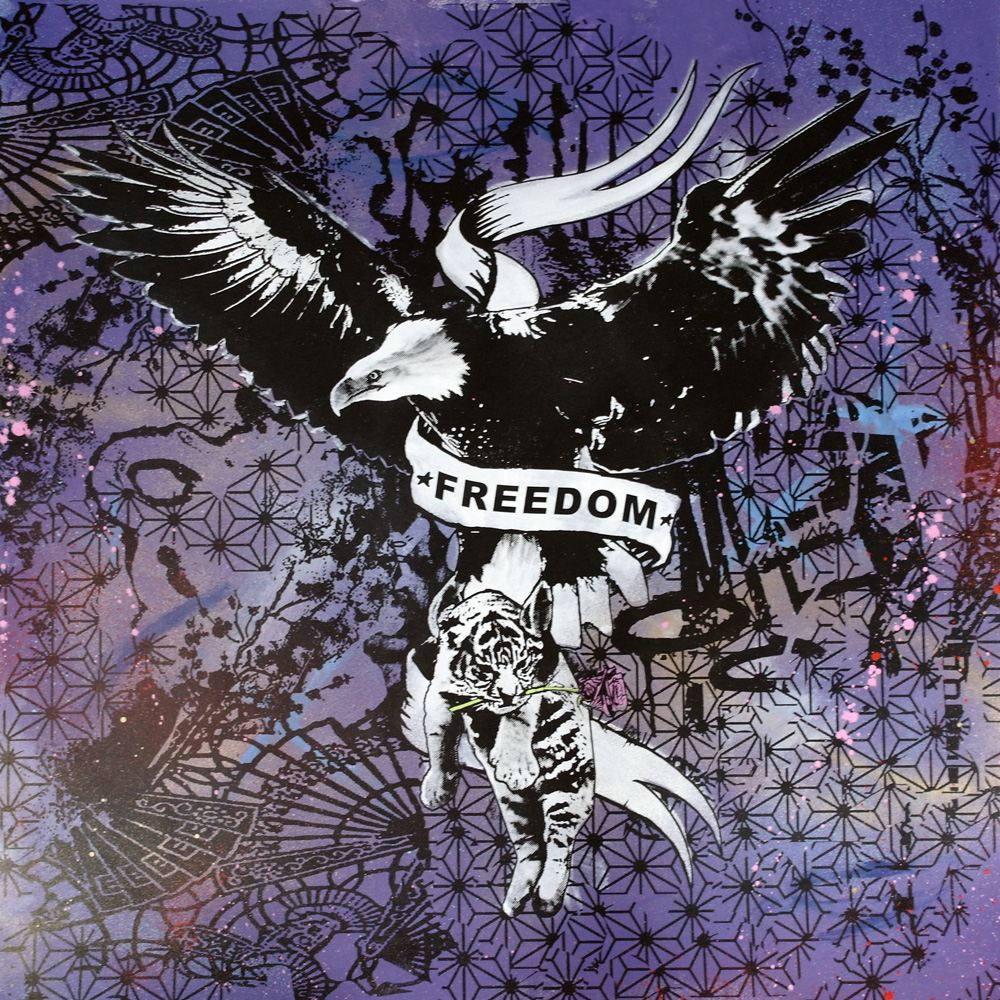 'Freedom 1'1of1screenprint, 80x80cm Not for Catalogue 042.JPG