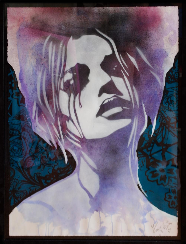 'Heartbreak'2, Origional Work, spray paint and acrylic on paper, £450 (framed) 013.jpg
