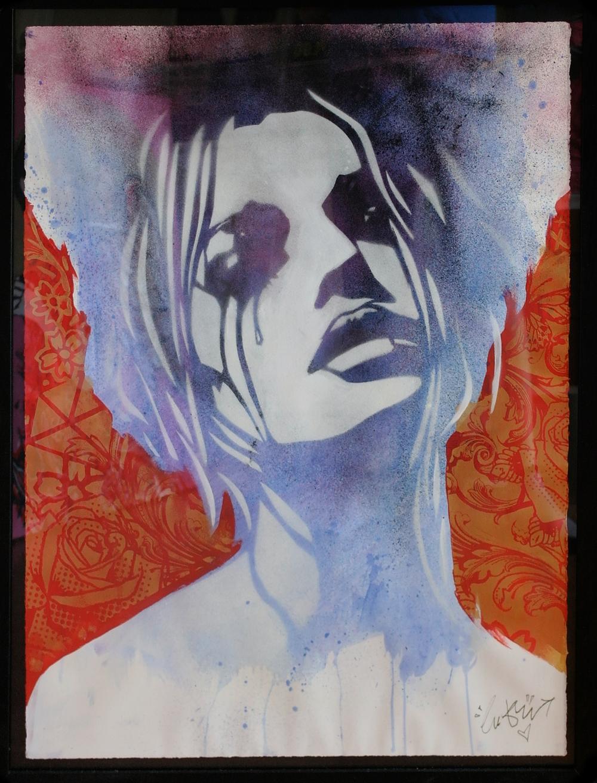 'Heartbreak'3, Origional Work, spray paint and acrylic on paper, £450 (framed) 014.jpg